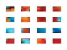 Set of abstract background pictures. stock illustration