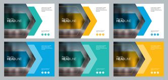 Set abstract background template design for social media post and web banners concept. With use in presentation cover,brochure,book cover layout concept stock illustration