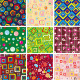 Set abstract  background Stock Photos