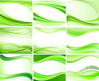 Set of abstract backgrounds  Royalty Free Stock Images