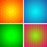 Set of abstract backgrounds. Set of abstract colored backgrounds Royalty Free Stock Photography
