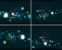 Set of abstract backgrounds with copyspace Stock Photo