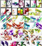 Set of abstract backgrounds Royalty Free Stock Photo