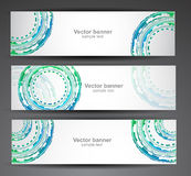 Set of abstract banner Stock Photography