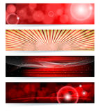 Set of abstract banners. Royalty Free Stock Photos
