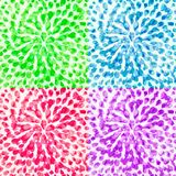 Set of Abstract Bright Backgrounds Stock Image