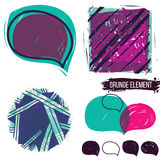 Set abstract colorful elements Stock Photography