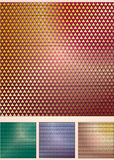 Set of the abstract coloured backgrounds Royalty Free Stock Images