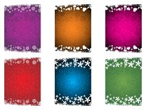 Set of abstract design card Stock Photography