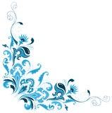 Set of abstract design floral elements. All elements and textures are individual objects. Vector illustration scale to any size Royalty Free Stock Photo