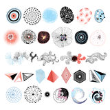 Set of abstract elements Stock Photos