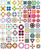 Set of abstract geometric icons / shapes Stock Photography