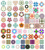 Set of abstract geometric icons / shapes Royalty Free Stock Photo