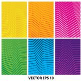 Set of abstract geometric minimalistic backgrounds. Vector EPS 10 royalty free illustration