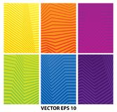 Set of abstract geometric minimalistic backgrounds. Vector EPS 10 stock illustration