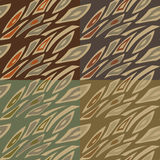 Set of abstract geometrical patterns Royalty Free Stock Photo