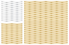 Set of Abstract Gold and Silver Texture Royalty Free Stock Photography