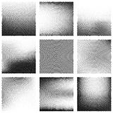 Set of abstract halftone background Royalty Free Stock Photography