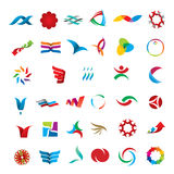 Set of abstract icons Stock Photography