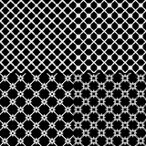 set of abstract patterns Stock Photos