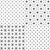 set of abstract patterns. Royalty Free Stock Image