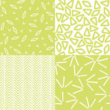 Set of Abstract Patterns Stock Photo