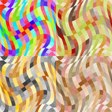 Set of abstract seamless pattern Stock Photo