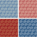 Set of abstract seamless patterns Royalty Free Stock Photo