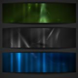 Set Of Abstract Stylish Banners. Royalty Free Stock Images