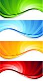 Set of abstract swirl Stock Image