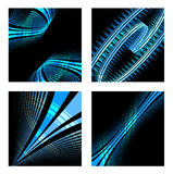 Set of abstract technology background Stock Photos