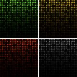 Set of Abstract Technology Backgrounds Royalty Free Stock Image