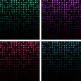 Set of Abstract Technology Backgrounds Royalty Free Stock Images