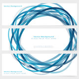Set of abstract template banner Royalty Free Stock Photography