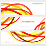 Set of abstract template banner Stock Photo