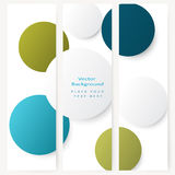 Set of abstract template banner Stock Photography