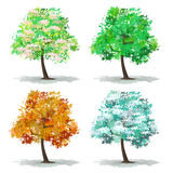 Set of abstract tree Stock Images