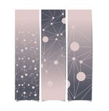 Set of abstract vector banners. Royalty Free Stock Image