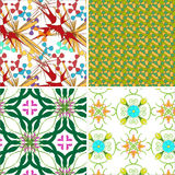 Set of abstract vector texture  Royalty Free Stock Photo