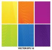 Set abstrakcjonistyczni geometryczni minimalistic tła ilustracji