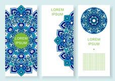 Set abstrakcjonistyczni tła z przestrzenią dla twój teksta Obraz Stock