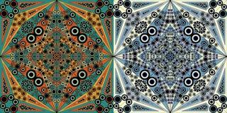 Set abstrakcjonistyczni tła ilustracja wektor