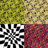 Set abstrakta, rocznika, starego i pustego grungy, Obrazy Stock