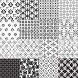 Set abstrakte nahtlose Muster vektor abbildung