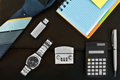 A set of accessories for the business Stock Photography