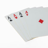 Set of Aces Royalty Free Stock Photo