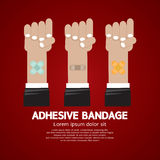 Set of Adhesive Bandage Stock Image
