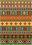 Set of African pattern Royalty Free Stock Image