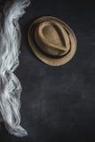 Set akcesoria mody ubrania widzieć od above, odgórny widok Obraz Royalty Free