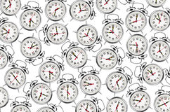 Set of alarm clocks Royalty Free Stock Photography